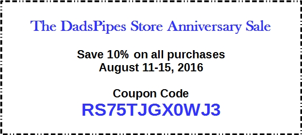 Anniversary sale coupon
